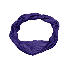 Twist Headwrap // Blueberry - KNOT Hairbands