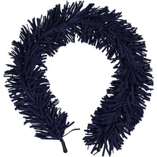 Load image into Gallery viewer, TASSEL HEADBAND // Midnight Navy - KNOT Hairbands