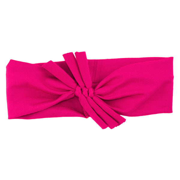 Triple Bow // Hot Pink
