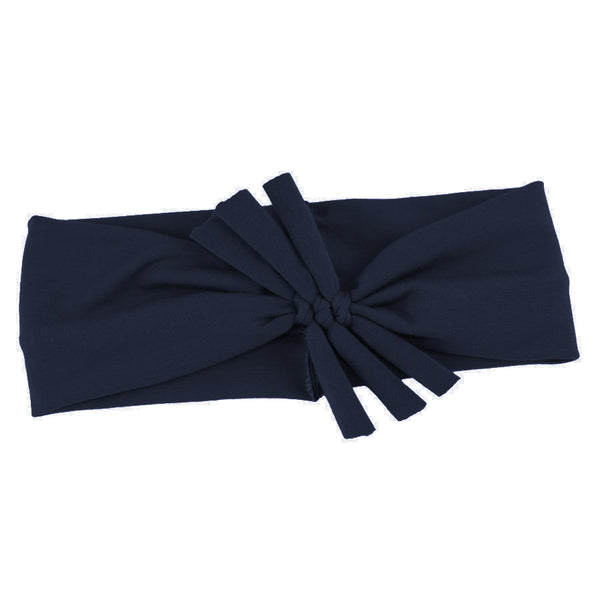 Triple Bow // Navy