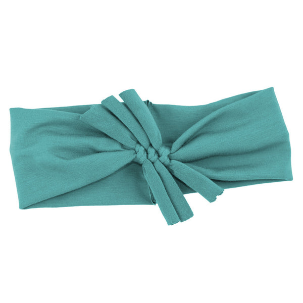 Triple Bow // Teal