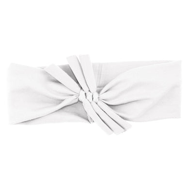 Triple Bow // White - KNOT Hairbands