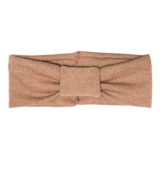 Turban Headwrap // Peach KNIT - KNOT Hairbands