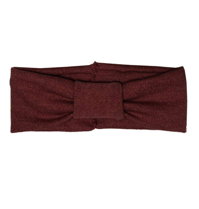 Turban Headwrap // Wine KNIT - KNOT Hairbands