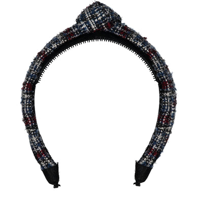 TWEED KNOT HEADBAND // Midnight Navy Weave - KNOT Hairbands