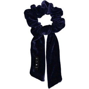 VELVET SCRUNCHIE // Midnight Navy - KNOT Hairbands