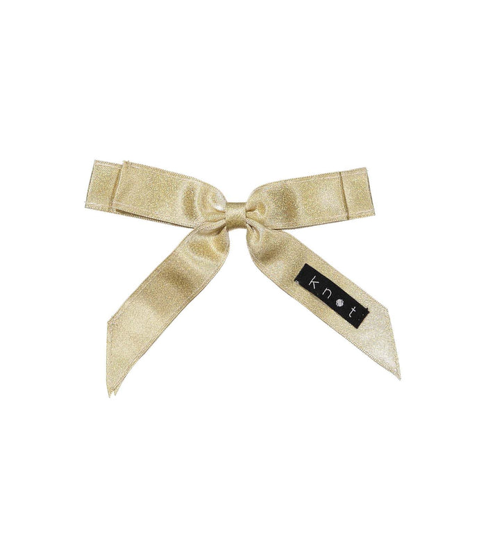 WAFFLE BOW CLIP // Gold - KNOT Hairbands