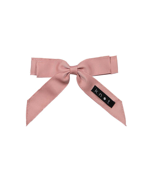 WAFFLE BOW CLIP // Pink - KNOT Hairbands