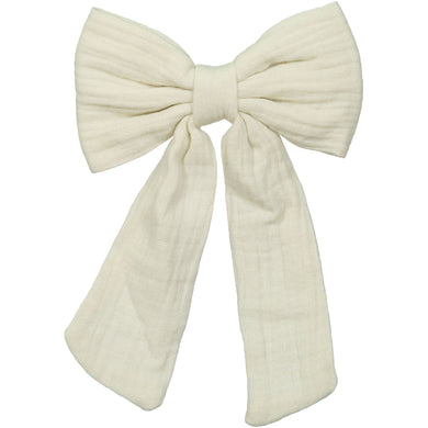 WATERCOLOR BOW CLIP - KNOT Hairbands