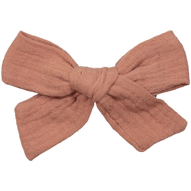 WATERCOLOR PETITE BOW CLIP - KNOT Hairbands