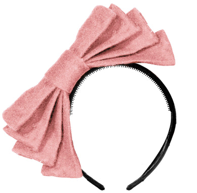 WIND Bow Headband // BRILLIANT PINK