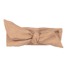Load image into Gallery viewer, Wrap Bow Headwrap // Peach KNIT - KNOT Hairbands