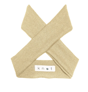 Wrap Bow Headwrap // Pearl KNIT - KNOT Hairbands