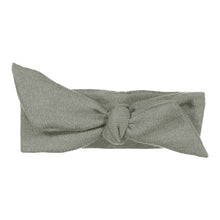 Load image into Gallery viewer, Wrap Bow Headwrap // Slate KNIT - KNOT Hairbands