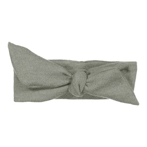 Wrap Bow Headwrap // Slate KNIT - KNOT Hairbands