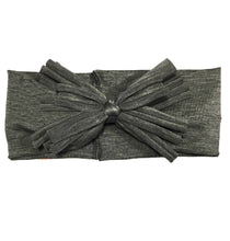 Load image into Gallery viewer, XOXO Headwrap // Heather Grey - KNOT Hairbands