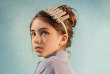 Load image into Gallery viewer, Confetti Headwrap // Black - KNOT Hairbands