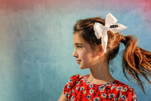 Load image into Gallery viewer, CREPE BOW Clip // Blush - KNOT Hairbands