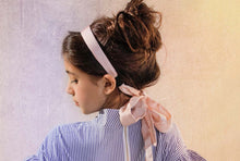 Load image into Gallery viewer, CREPE HEADBAND // Blush - KNOT Hairbands
