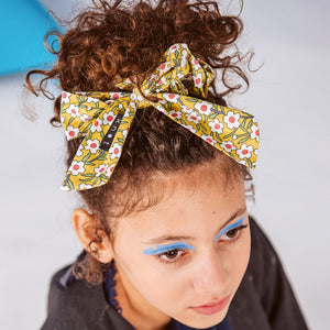 FLORAL SCRUNCHIE - KNOT Hairbands