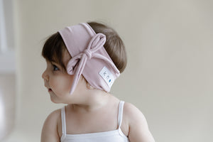 BEBE Bow Headwrap // Black - KNOT Hairbands