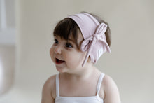 Load image into Gallery viewer, BEBE Bow Headwrap // Black - KNOT Hairbands