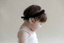 Load image into Gallery viewer, CATERPILLAR Headwrap // White - KNOT Hairbands