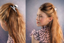 Load image into Gallery viewer, POP HAIR CLAW // White - KNOT Hairbands