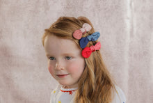 Load image into Gallery viewer, SCOOP BOW CLIP // Strawberry - KNOT Hairbands