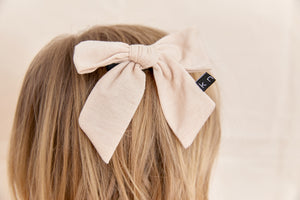 T-SHIRT BOW CLIP - KNOT Hairbands