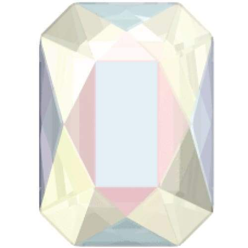 2602 Swarovski Emerald Cut Flatback Collection - OceanNailSupply