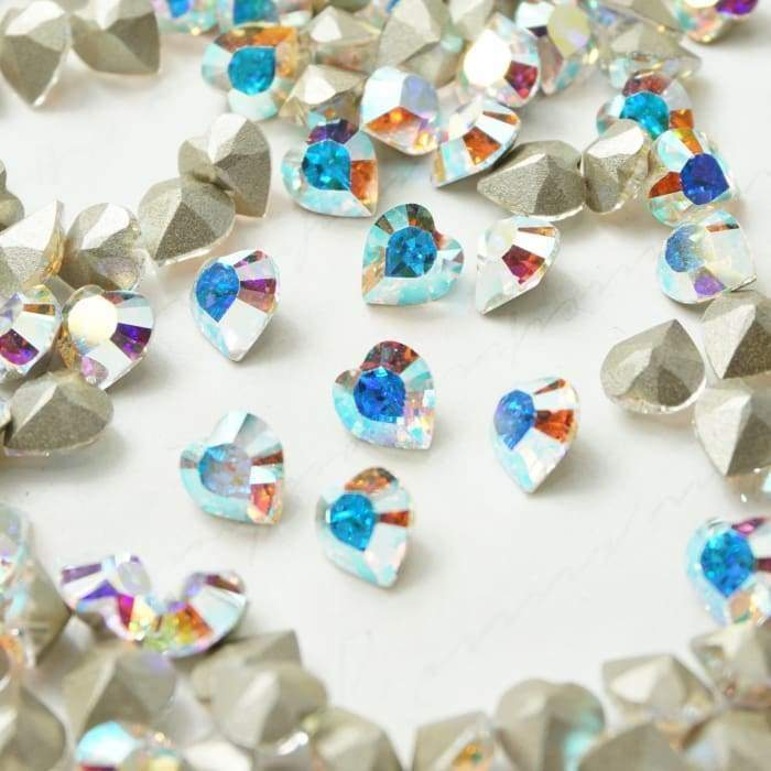 4831 Swarovski Heart Fancy Collection - OceanNailSupply