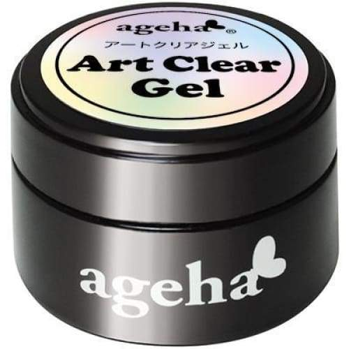 AGEHA ART CLEAR GEL [7.5G] [JAR] - OceanNailSupply
