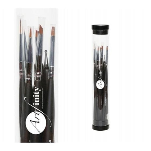ArtFinity Nail Art Brush Kit (8 pieces) - OceanNailSupply