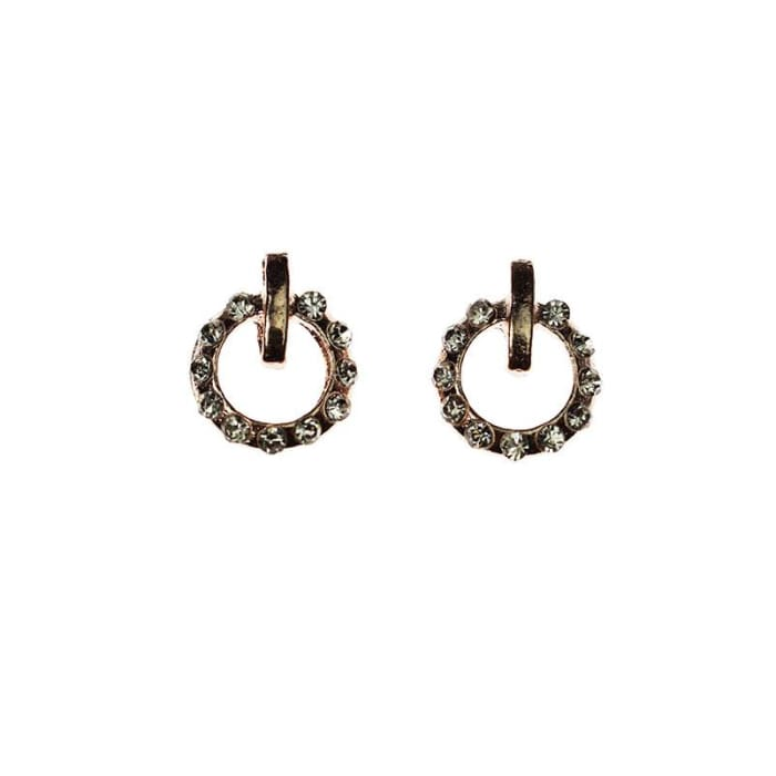 Charms - F19 Rose Gold double ringed - OceanNailSupply