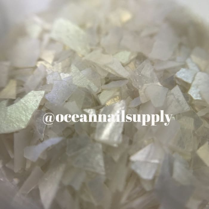 Crushed Opalescent Flakes - OceanNailSupply