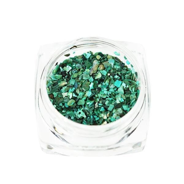Crushed Opalescent Shell - OceanNailSupply