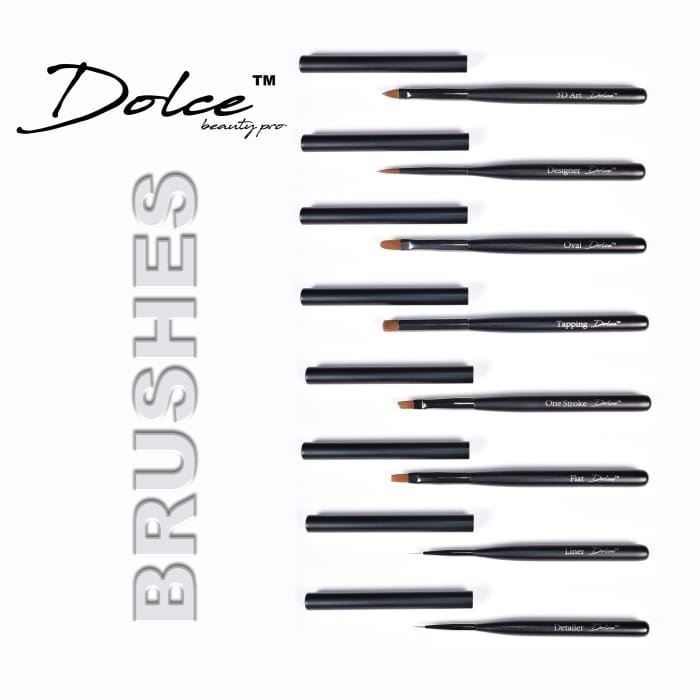 Dolce® Brush Set - OceanNailSupply