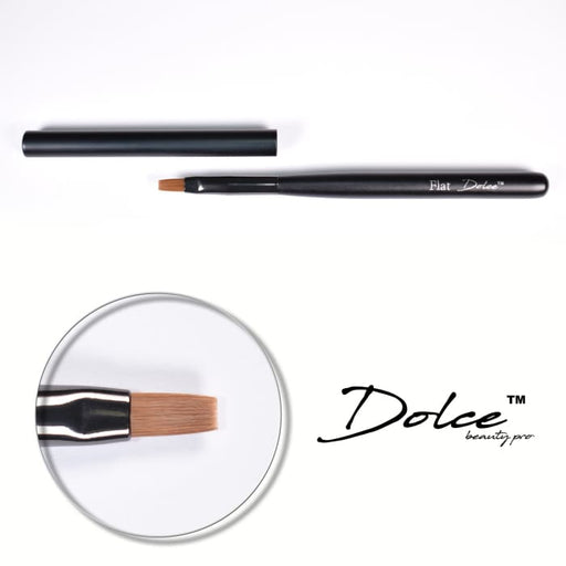 Dolce® Flat Brush - OceanNailSupply