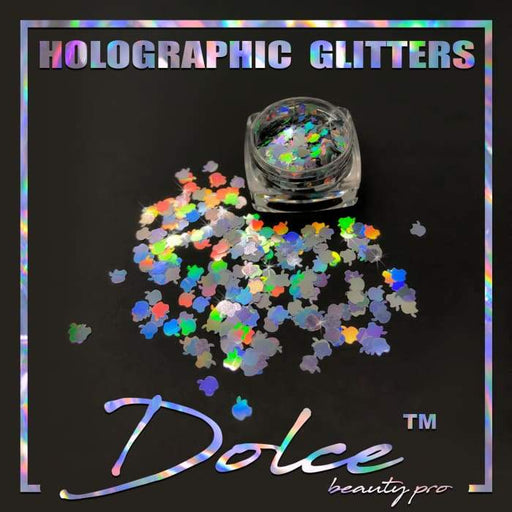 Dolce® Holographic Glitter - Apple 4mm - OceanNailSupply