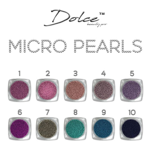 Dolce® Micro pearls - OceanNailSupply