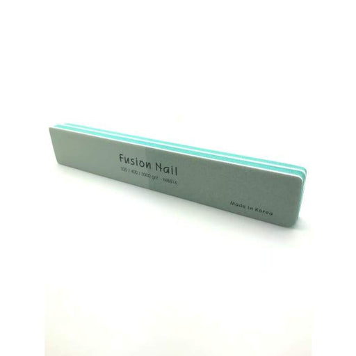 Fusion Nail 2 Sided Shiny Buffer 320/ 400/ 3000 Grit - OceanNailSupply