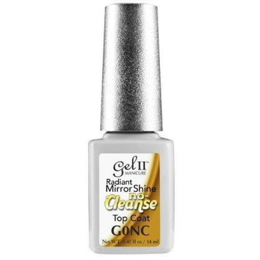 Gel II - Mirror Shine Topcoat (No Cleanse) - OceanNailSupply