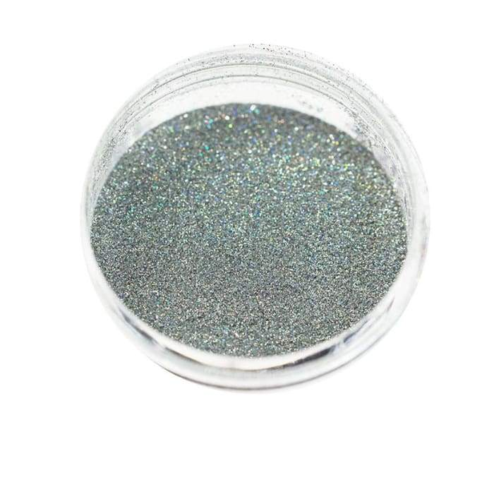 Holographic Glitter Silver 0.004 - OceanNailSupply