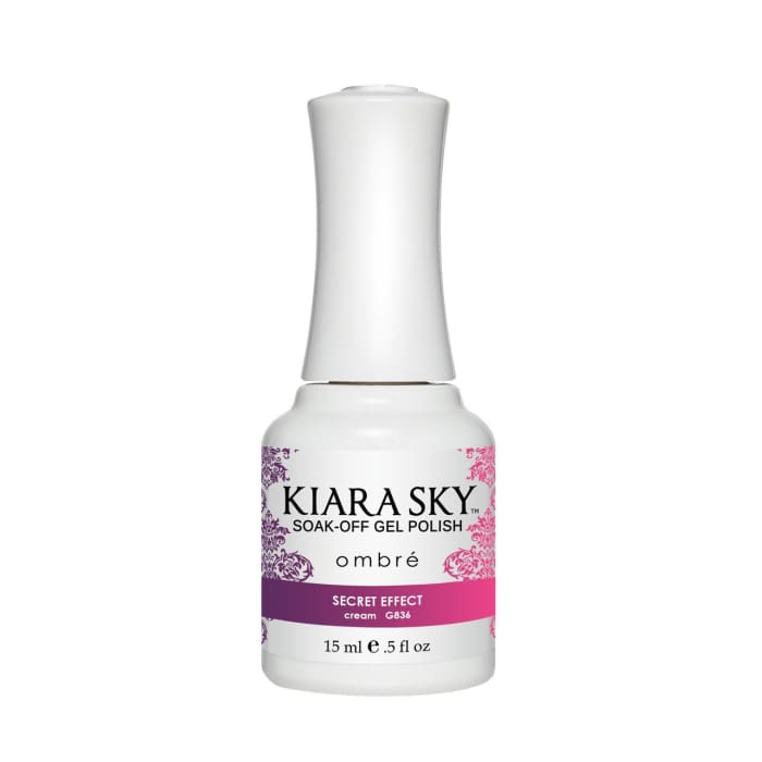 Kiara Sky Ombre GEL POLISH - G836 SECRET EFFECT - OceanNailSupply