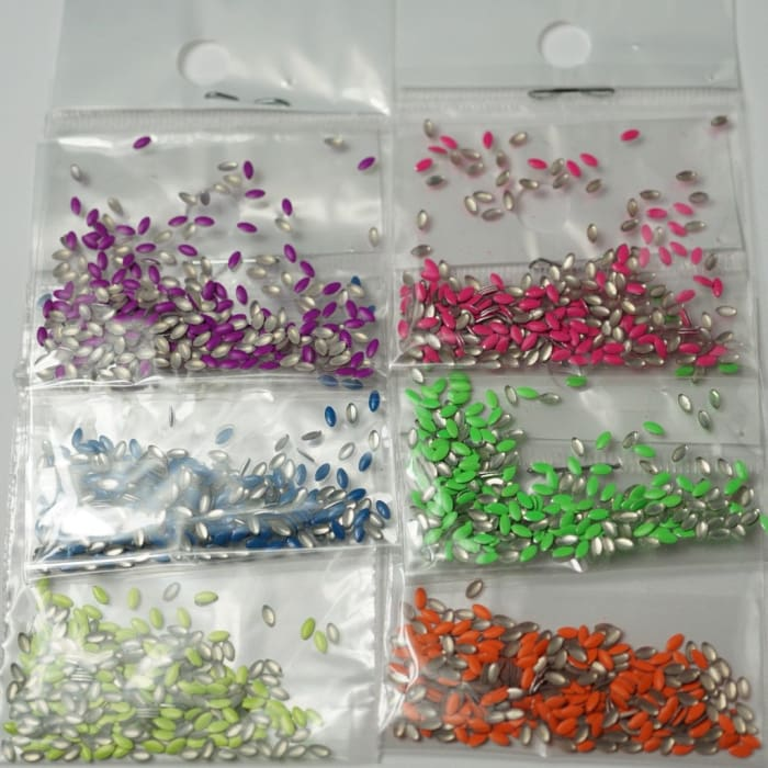 Neon stud mixed packs - OceanNailSupply