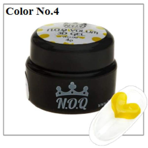 NOQ 3D Volume Gel #4 - OceanNailSupply