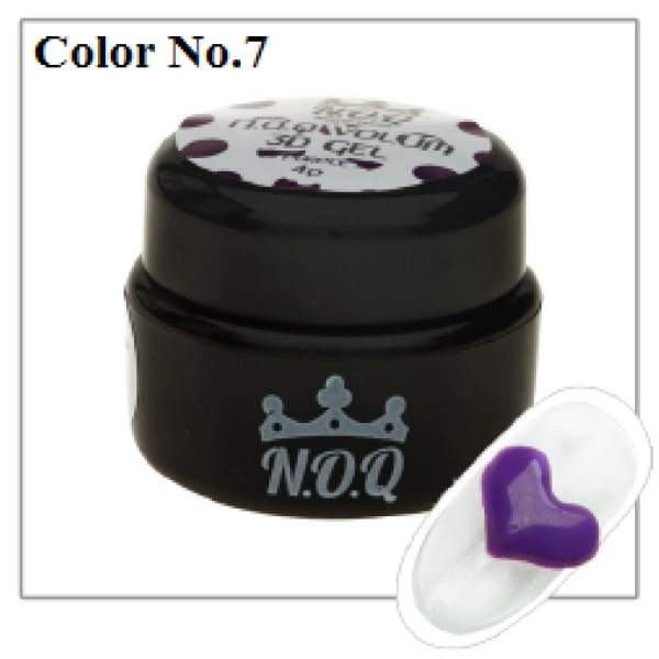 NOQ 3D Volume Gel #7 - OceanNailSupply