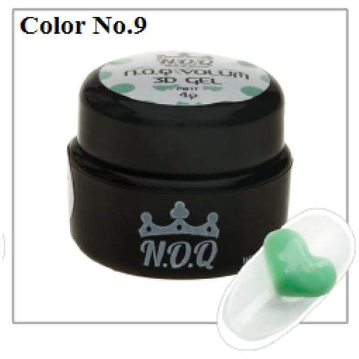 NOQ 3D Volume Gel #9 - OceanNailSupply