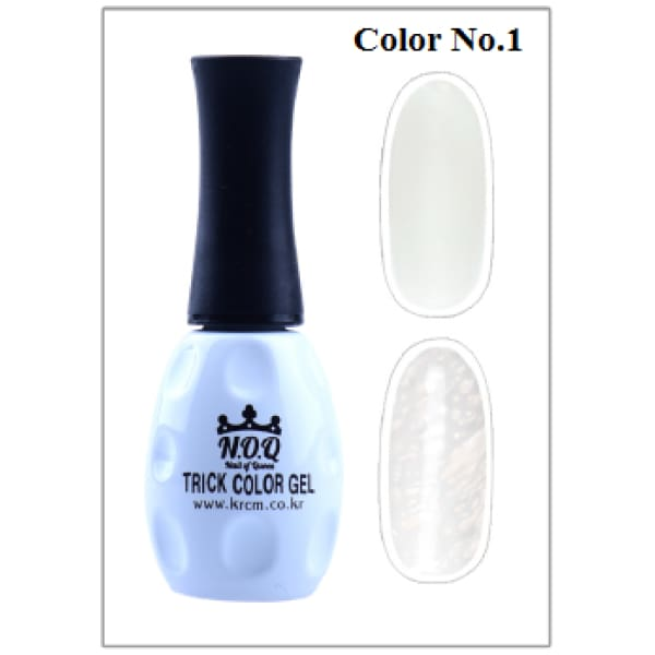 NOQ TRICK color and clear gel polish - OceanNailSupply